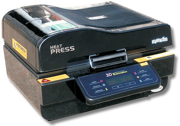 3D вакуумный пресс